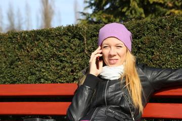 Telefonat mit dem Partner