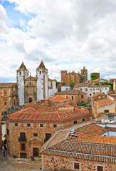 Panoramica de Caceres, Extremadura, España