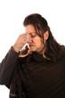Woman with a Migraine Headache