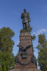 statue of Alexander III of Russia