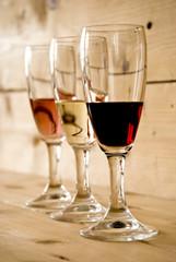Tris di bicchieri