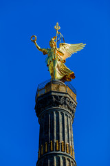 Victory Column Berlin.  statue of victory (siegessaule)