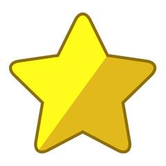 Icono estrella redondeada