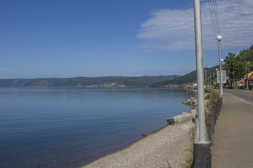 Lake Baikal and Litsvyanka street