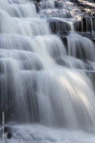 Tuinposter Watervallen Splashing Cascade