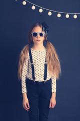 Fashion kid girl