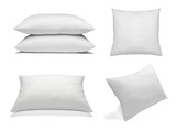 Fototapety white pillow bedding sleep