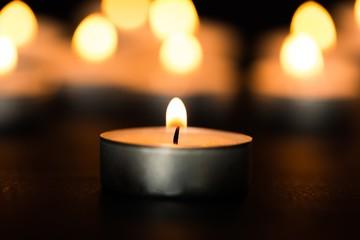 Church. Tea Light Candles