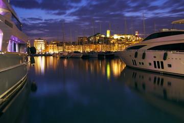 Port de Cannes, France.