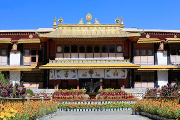 Takten Mingyur Phodrang-palace. Norbulingka-Lhasa-Tibet. 1261