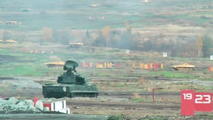 Antiaircraft gun missile system ZSU-23-4M4 Shilka-M4