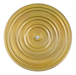 Fitness disk, isolated
