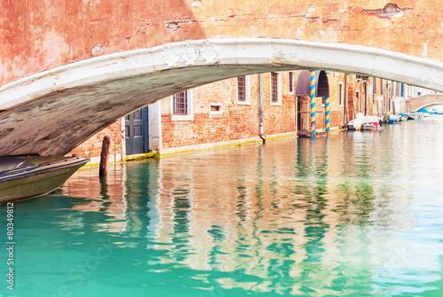 Canal Venice Italy.