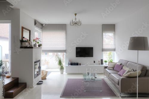 modern living room - 80349890