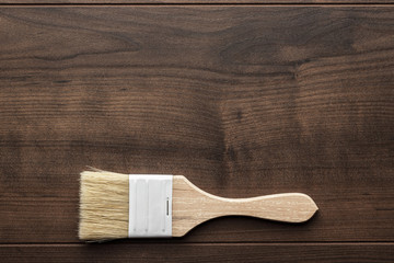 brush on the table