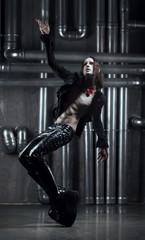 Gothic dancing man