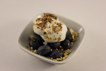 Blueberry and Yogurt Snack