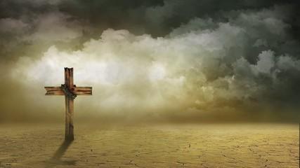 Wind Swept Cross