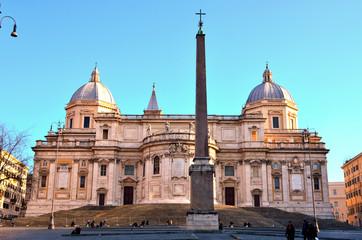 Rome, Italy. Basilica of Santa Maria Maggiore