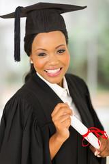 african american female graduate potrait