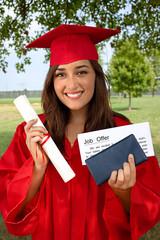 Graduate job offer success