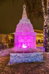 Ледяная скульптура. Въездная Арка.