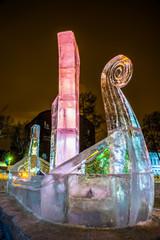 Ледяная Скульптура. Ладья.