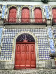 arquitetura do centro histório de Santos