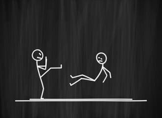 tafel mk karate kick I