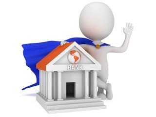 Brave super banker and global bank