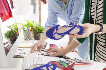 Women who have a sandal design