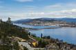 Okanagan Lake Bridge Kelowna BC Canada
