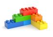 Toy blocks wall - 80359224