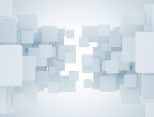 cube pattern abstract background