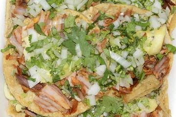 Mexican cuisine Authentic tacos Pork food