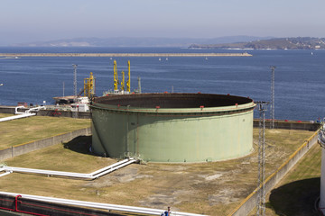 Depósito de gas