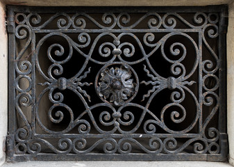 Architectural detail of the royal palace in Livadia