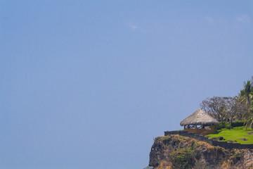 Hut on the top of a hill in El Salvador