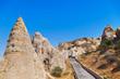 Cave city in Cappadocia Turkey