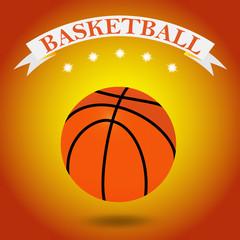 illustration of a basketball ball