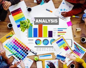 Analysing Information Bar Graph Data Statistic Concept