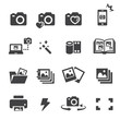 photo icon set - 80368411