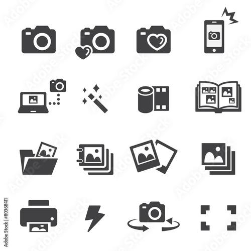 photo icon set - 80368411