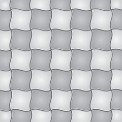 Tile geometric seamless pattern. Vector illustration