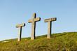 """Leinwanddruck Bild - """"Pestkreuze"""" auf dem Allweg bei Stans, Schweiz"""