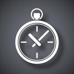 Vector pocket watch icon