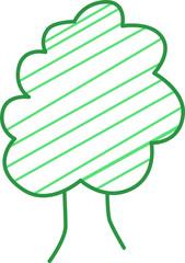 Árbol Vector Sencillo