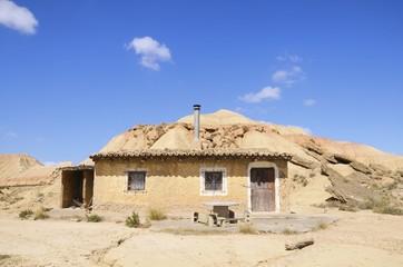 house - Bardenas Reales, Spain