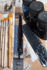 Artist tool for art