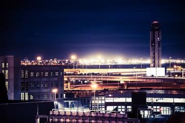 Las Vegas Airport at Night